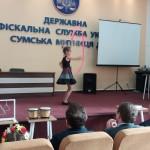 Вихованці Центру привітали працівників Сумської митниці